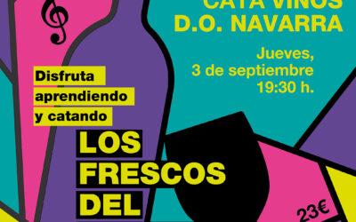 Formación y Cata Vinos DO Navarra