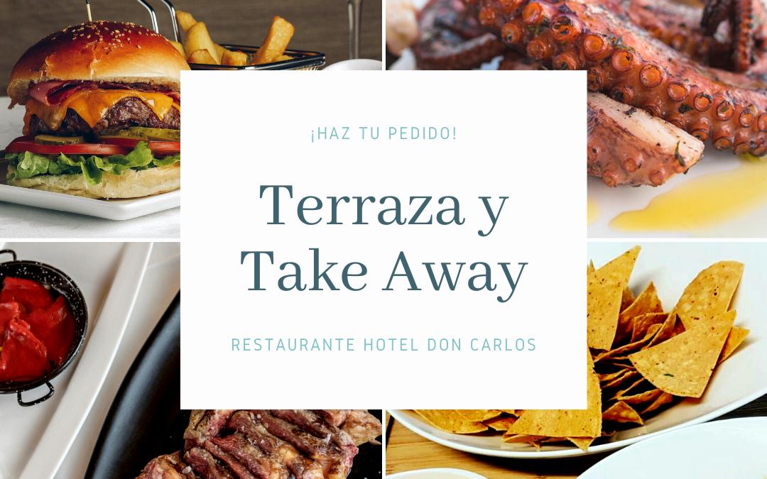 Take Away y Terraza