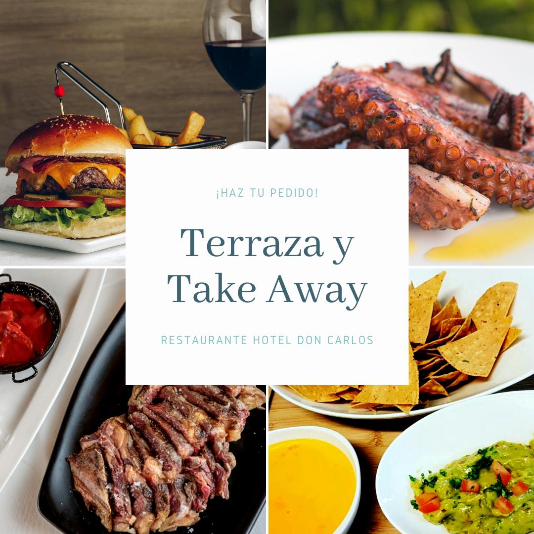 Take Way y Terraza Restaurante Hotel Don Carlos