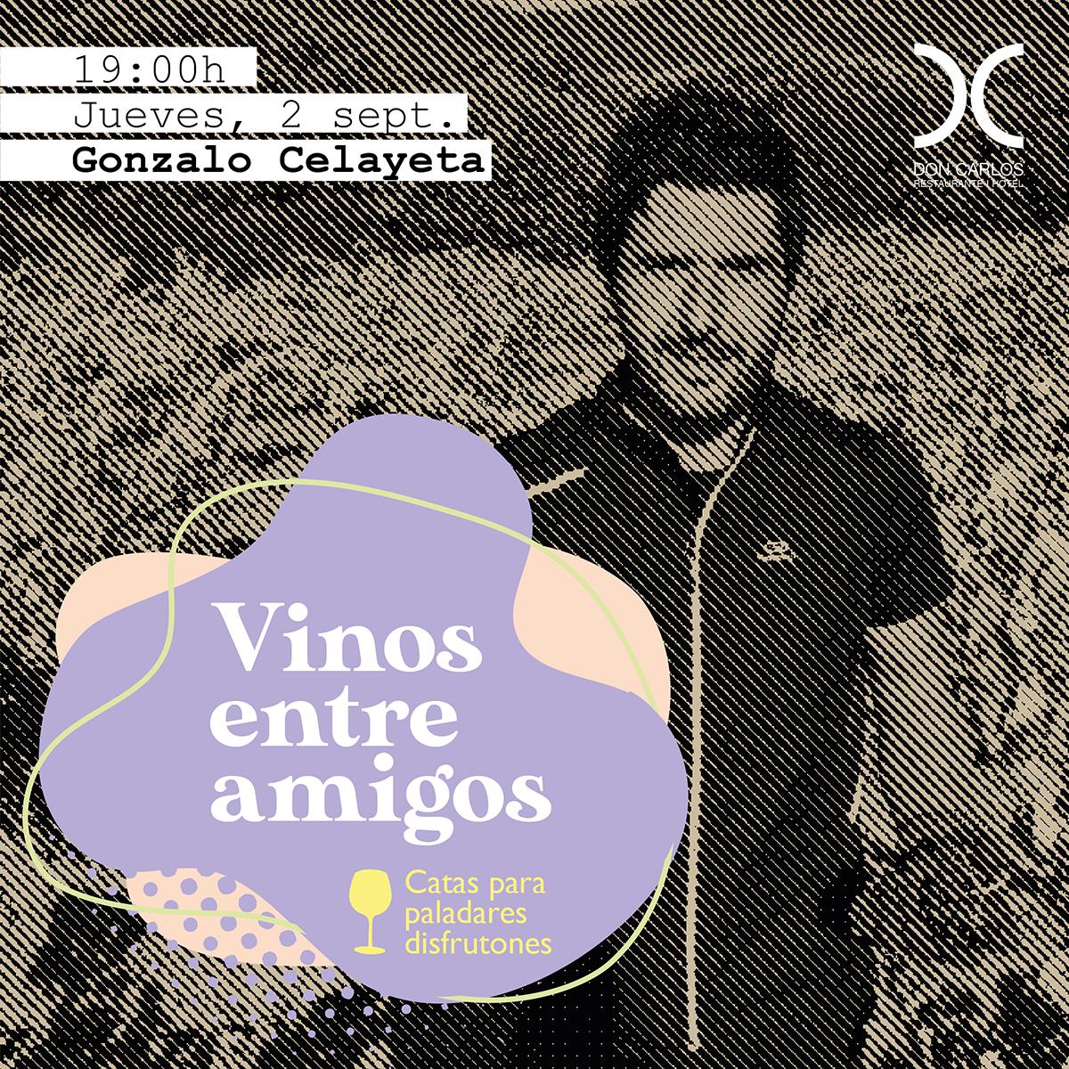 Vinos entre amigos - Restaurante Hotel Don carlos - cata de vinos